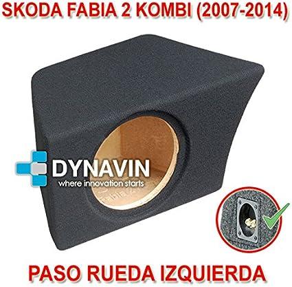 SKODA FABIA 2 KOMBI (2007-2014). IZQ. - CAJA ACUSTICA PARA ...