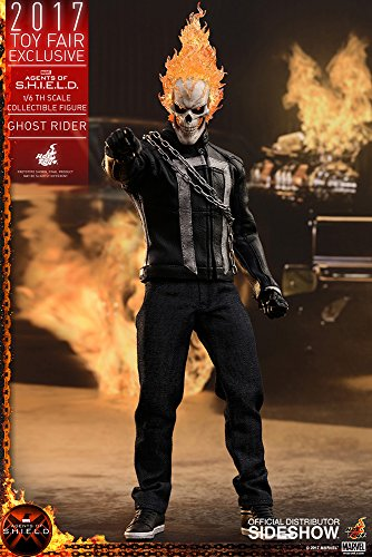Hot Toys Marvel Agents of S.H.I.E.L.D. Ghost Rider 1/6 Scale Figure Sideshow Exclusive for $<!--$655.00-->