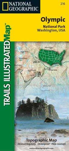 Olympic National Park: Washington, USA 216 (Trails Illustrated - Topo Maps ()