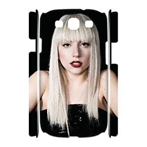C-EUR Lady Gaga Customized Hard 3D Case For Samsung Galaxy S3 I9300