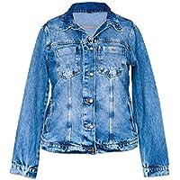 Jaqueta Jeans Feminina - Plus Size [03618]