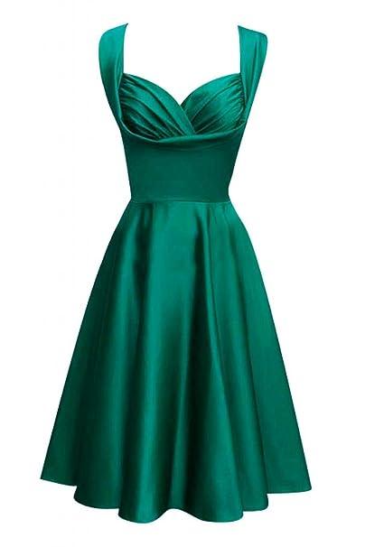 Toscana novia Chic dos-Traeger por la noche vestido de satén corto vestidos de fiesta
