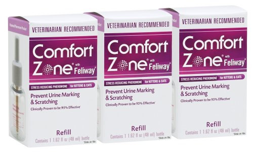Comfort Zone 48 ml Refill Bottles 3-Pack, My Pet Supplies