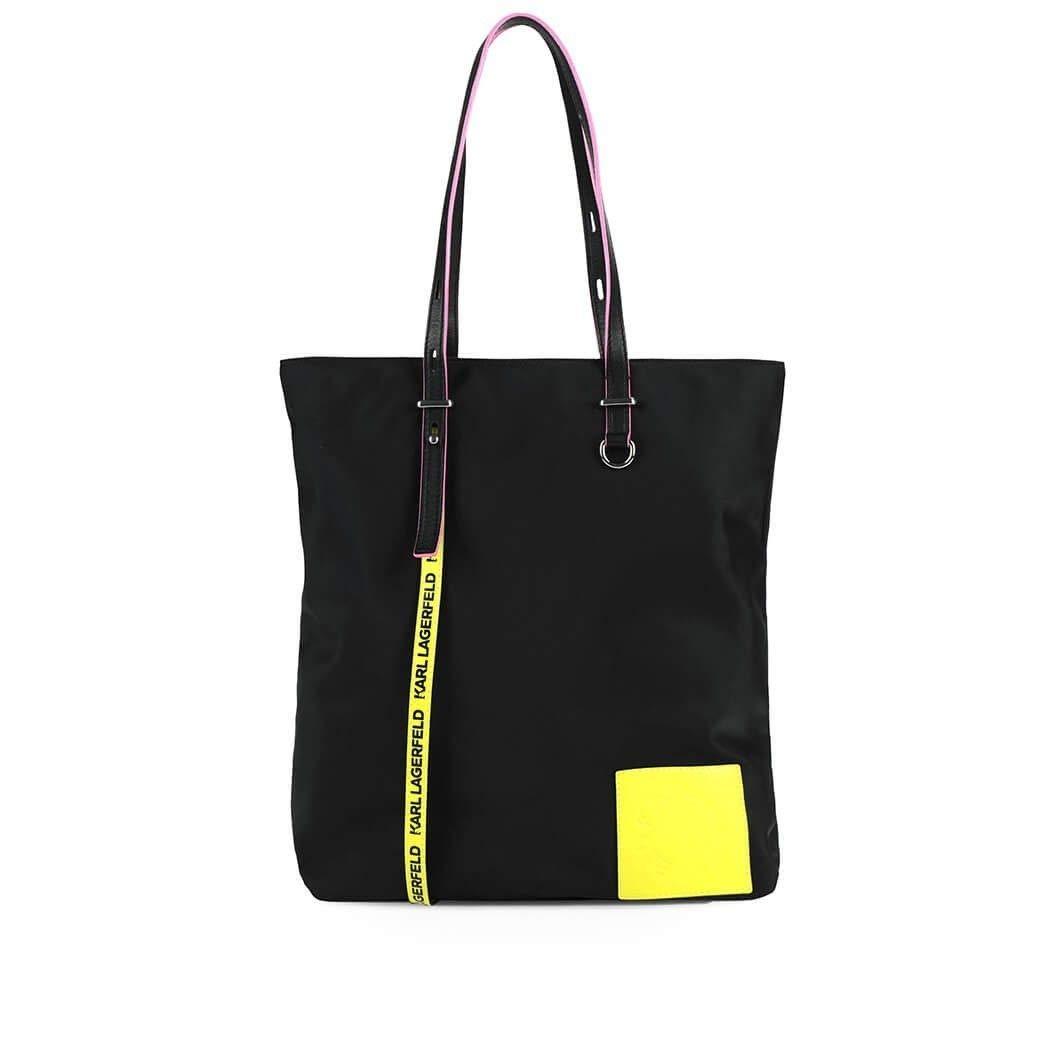 Karl Lagerfeld Womens 91Kw3084999 Black Polyamide Tote