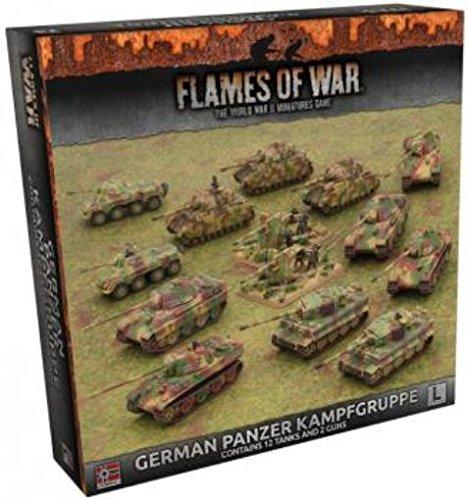 German War Panzer (Flames of War: Late War: German: Panzer Kampfgruppe)