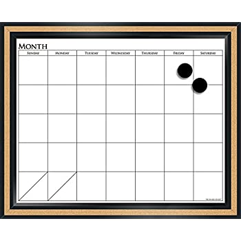 Amazon Com Quartet Home Decor Dry Erase Calendar