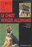 Le chiot berger allemand