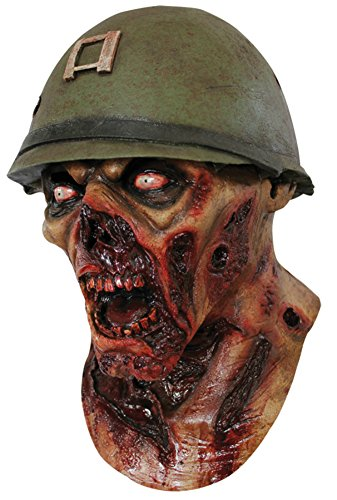 Captain Leister Mask - Captain Leister Yelling Rotted Zombie Horror