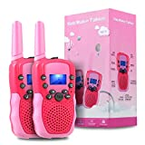 OMWay Outdoor Toys for Toddlers Age 3-5, Kids Walkie Talkies for Girls Age