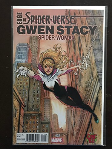 Edge of Spider-verse #2 2014 Variant Marvel Color Exclusive Bug Comic Book Incentive. 1st Appearance of Spider-Gwen Spiderman (Exclusive Spider)