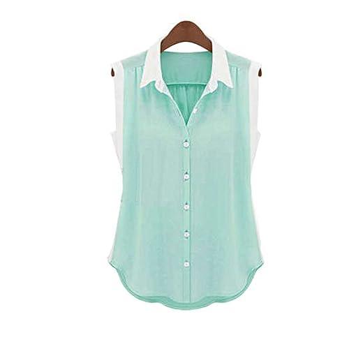 LOBZON - Camisas - Túnica - Básico - Clásico - para mujer