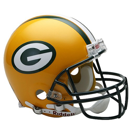 NFL Green Bay Packers Full Size Proline VSR4 Football Helmet