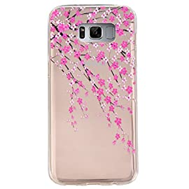 Galaxy S8 Case,3Cworld Ultra Thin Clear Art Pattern Crystal Gel TPU Rubber Flexible Slim Skin Soft Case for Samsung Galaxy S8 6 Slim-Fit design for the Samsung Galaxy S8 Ultra thin 0.4mm High quality material,easy to install and remove International advanced print technology and perfect design.Many designs for your choice.Ship from USA,FAST Delivery!