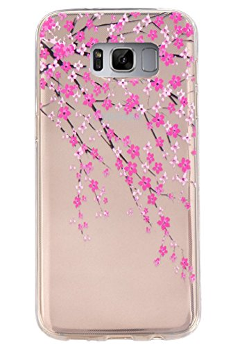 Galaxy S8 Case,3Cworld Ultra Thin Clear Art Pattern Crystal Gel TPU Rubber Flexible Slim Skin Soft Case for Samsung… 1 Slim-Fit design for the Samsung Galaxy S8 Ultra thin 0.4mm High quality material,easy to install and remove International advanced print technology and perfect design.Many designs for your choice.Ship from USA,FAST Delivery!