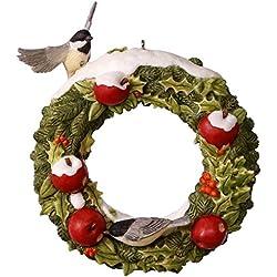 Hallmark Keepsake 2017 Marjolein's Garden Welcoming Wreath Christmas Ornament
