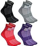 4 pairs of Colorful Non-slip Socks ABS SPORT Yoga Dance Gymnastics Trampolines M