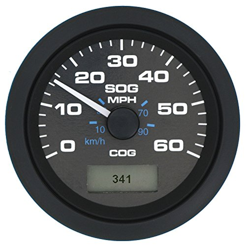 Sierra International 781-627-060P Premier Pro Gauge, 3 inch 60 MPH GPS Speedometer