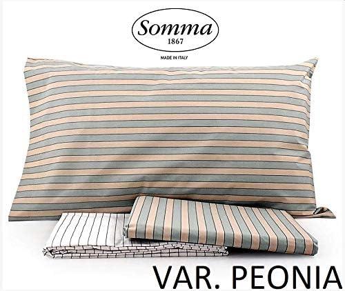 Somma - Juego de sábanas de Matrimonio de algodón percal Smart VAR ...