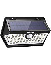 Mpow 63 LED Spot Solaire Extérieur, Lampe Solaire Etanche IP65 Haute Efficience Détecteur de Mouvement 3 Modes d'éclairage 270°Grand Angle pour Maison, Jardin, Allée, Patio, Escalier etc.