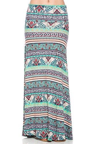 plus size tie dye maxi skirt - 5