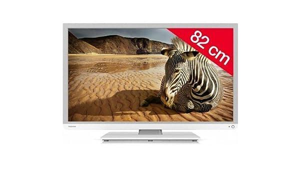 TOSHIBA Televisor LED 32W1334 - blanco + Kit de limpieza SVC1116/10: Amazon.es: Electrónica