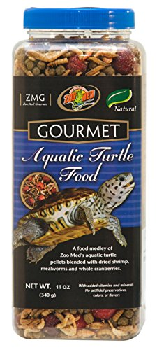 Zoo Med Gourmet Aquatic Turtle Food (Pack of 3) (Zoo Med Turtle Aquatic)