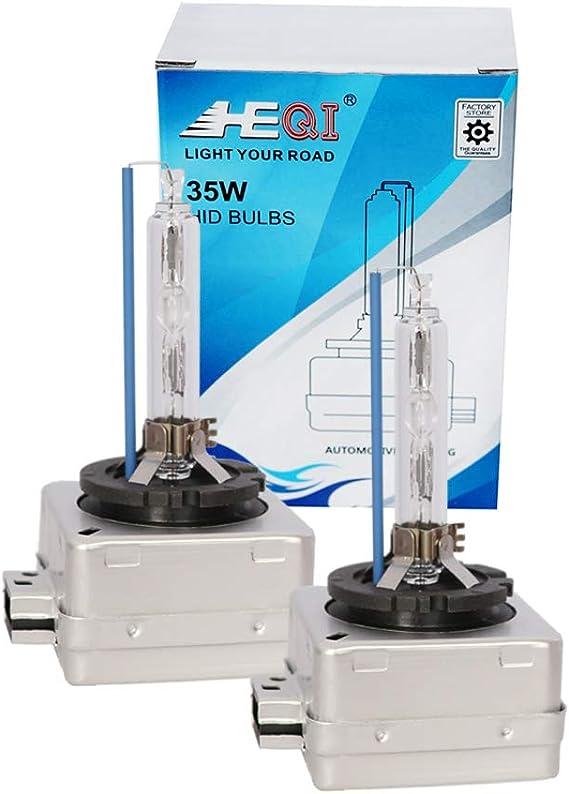 D1s Hid Xenon Brenner Scheinwerferlampe 8000k 35w Ersatzlicht 2 Yrs Garantie 2 Stück Auto