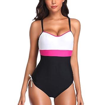 247d47d9ec Bikinis Set, HighlifeS Women One Piece Bathing Suit Wrap V Neck ...