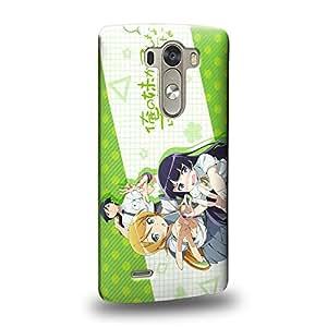 Case88 Premium Designs Oreimo Ore no Imoto ga Konna ni Kawaii Wake ga Nai Ore no Imoto Kirino Kosaka 1778 Carcasa/Funda dura para el LG G3