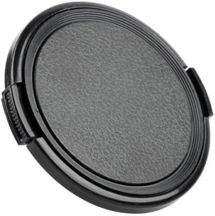 2x 49mm Flache Kappe Frontlinsenabdeckung f/ür 49mm Linse