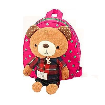 Gaorui 2013 New Baby Toddler Child Kid Cartoon Backpack Schoolbag Shoulder Bags _ Bear Rose