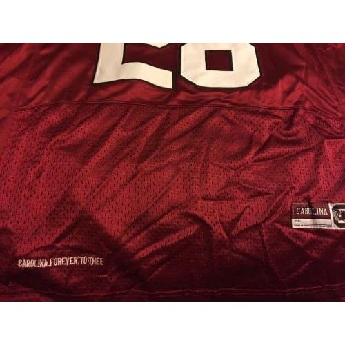 brand new c8cc2 c3a66 Mike Davis (Gamecocks) Autographed Jersey - Seattle Seahawks ...