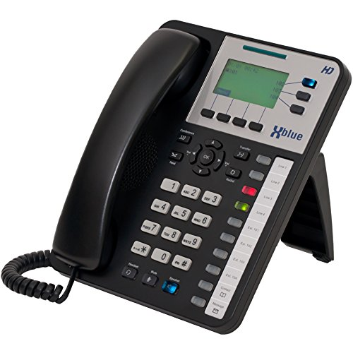 XBLUE X3030 VoIP HD Office Phone (47-7002) for X25 & X50 Systems - (11) Programmable Buttons, Speakerphone & Power Supply