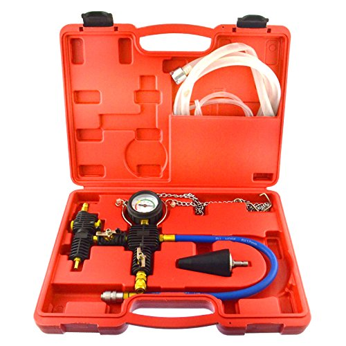 Automotive Radiator Cooling System Vacuum Purge & Refill Radiator Kit Car Truck