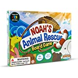 Noah's Animal Rescue! Kids Board Games Ages 4 8 - Learning & Cooperative Games for Kids Ages 4 and Up - Teach Children New Skills While Having Fun - Hot Toys for 2019 Birthday Presents.