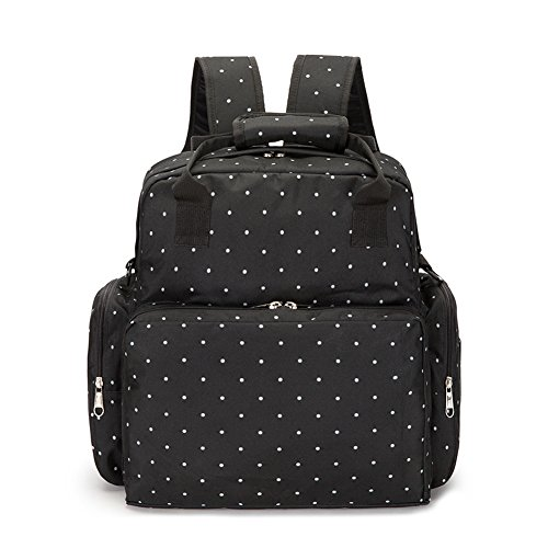 Mynos Waterproof Diaper Bag Big Capacity Multi-functional Daily Travel Backpack Handbag Bag With Changing Pad Fit Stroller Nappy Bags for Baby Care