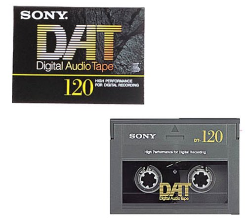 SONY DT-120 Digital Audio Cassette 120 minutes single item by Sony
