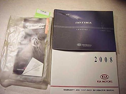 2008 kia optima owners manual kia amazon com books rh amazon com Kia Optima Manual PDF 2008 kia optima owners manual pdf