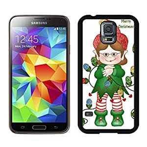 Best Buy Merry Christmas Black Samsung Galaxy S5 Case 47