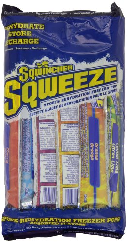 075880240068 - Sqwincher 3 oz Sqweeze Electrolyte Freezer Pop, Assorted 159200201 (15 Bags of 10) carousel main 0