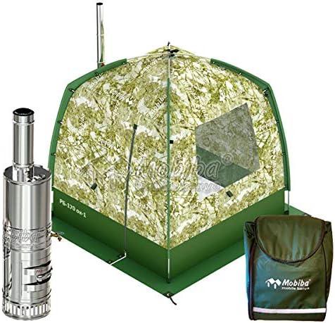 Mobiba Portable Mobile SPA-Sauna Complex