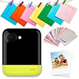 Polaroid POP 2.0-20MP Instant Print Digital Camera with 3.97' Touchscreen Display, Built-in Wi-Fi, 1080p HD Video, Yellow