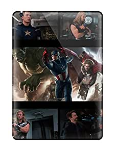 Anti-scratch And Shatterproof Top Avengers Hd Phone Cases For Ipad Air/ High Quality Tpu Cases
