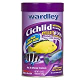 Hartz Wardley Cichlid Medium Floating Pellet Food, 16-3/4-Ounce, Spanish/English
