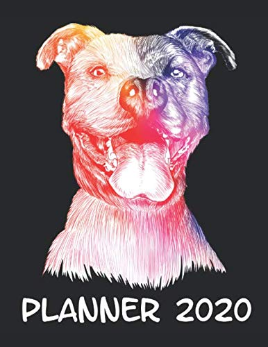 Planner-2020-Planner-Weekly-and-Monthly-for-2020-Calendar-Business-Planners-Organizer-For-To-do-list-85-x-11-with-Pitbull-Dog-Doggy-Pet-Animal-Lover