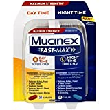 Mucinex Fast-Max Adult Day and Night Caplets, 30 Count (Pack of 7)