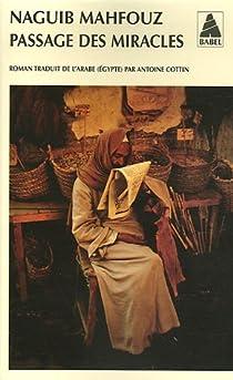 Passage des miracles par Mahfouz