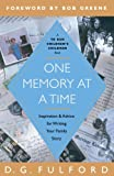 One memory at a Time, D. G. Fulford, 0385516770