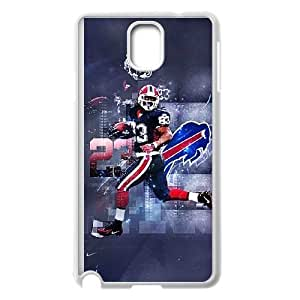 Samsung Galaxy Note 3 White Cell Phone Case Buffalo Bills NFL Phone Case For Boys Unique NLYSJHA0887