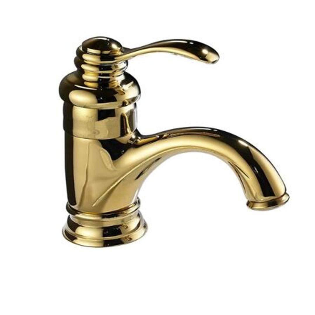 Wasserhahn Waschbecken Wasserhahn Wasserhahnmessing Heißen Und Kalten Becken Wasserhahn Einzigen Griff Ein Loch Bad Schwarz Waschbecken Wasserhahn